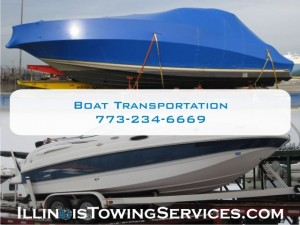 Boat Transport Sidney IL - CanAm Transportation Inc.