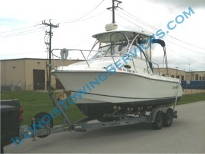 Boat transport Milan IL - CanAm Transportation Inc.