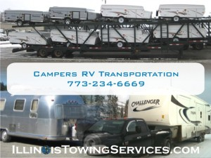 Campers Montreal, QC, Canada RV Transport- Illinois Vehicle Transport