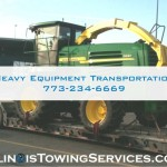 Heavy Equipment Transportation - Illinois Towing Services