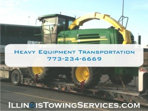 Heavy Equipment Moving Round Lake Beach IL - Illinois Vehicle Transport