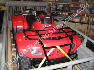 ATV transportation Bloomington IL - Illinois Vehicle Transport