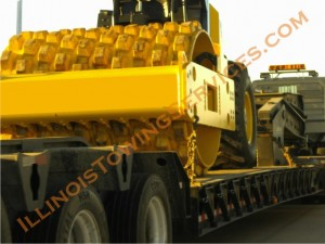 Heavy equipment moving Oblong IL provided by Illinois Vehicle Transport