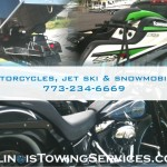 Motorcycles, Jet Ski, and Snowmobiles Transportation - Illinois Towing Services