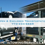 Illinois Open Car Transport, Illinois Enclosed Car Transport