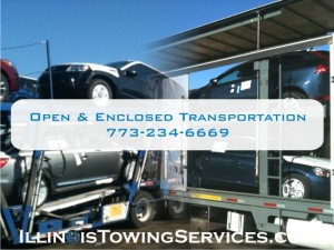 Open car transport and enclosed car transport - Illinois Vehicle Transport