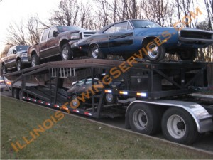 Open car transport Los Angeles CA - car moving by CanAm Transportation Inc.