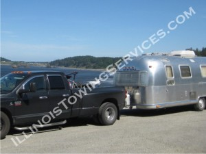 San Diego CA Travel trailer transport - Illinois Vehicle Transport