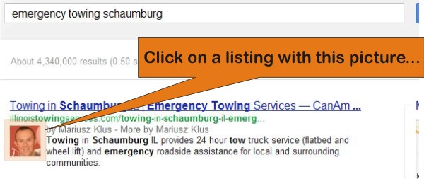 emergency towing schaumburg listing