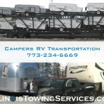 Campers RV Transportation - Illinois Towing Services