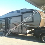 RV transport #7 by CanAm Transportation Inc., 4740 N Cumberland Ave., Chicago IL, 60656, (773) 234-6669